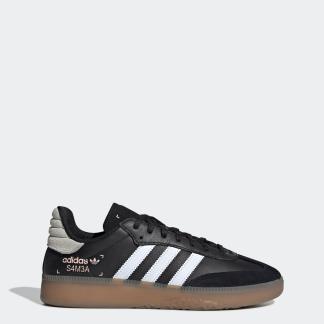SAMBA RM 運動鞋- 黑色| 男子| adidas(愛