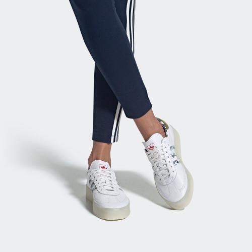 SAMBAROSE 運動鞋- 白色| 女子| adidas(愛
