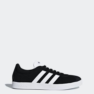 VL COURT 2.0 運動鞋- 黑色| 男子| adidas
