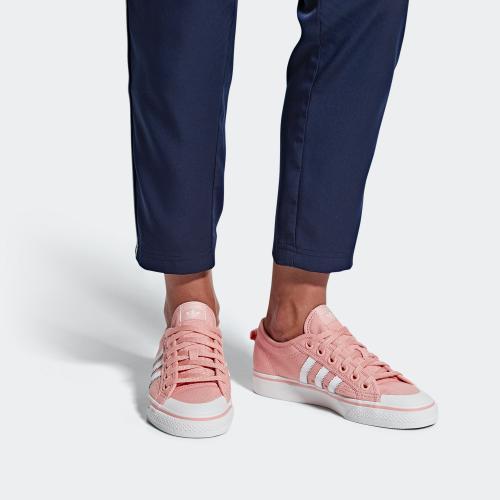 NIZZA W SHOES - PINK | WOMEN | adidas