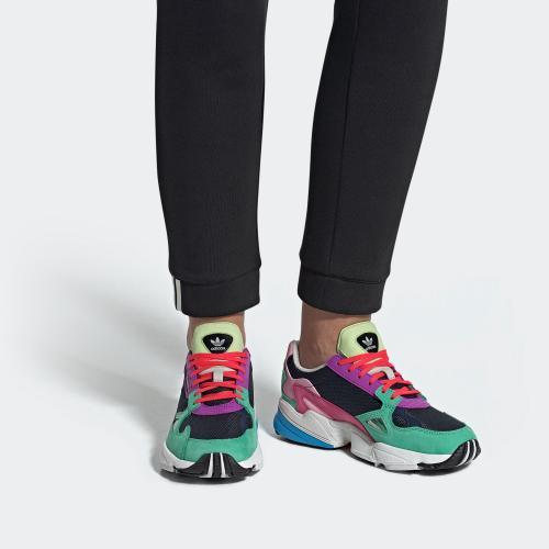FALCON W 運動鞋- 深藍色| 女子| adidas