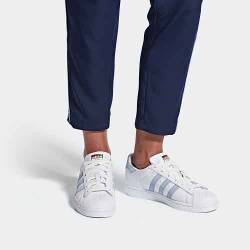 SUPERSTAR W SHOES - FTWWHT/PERIWI