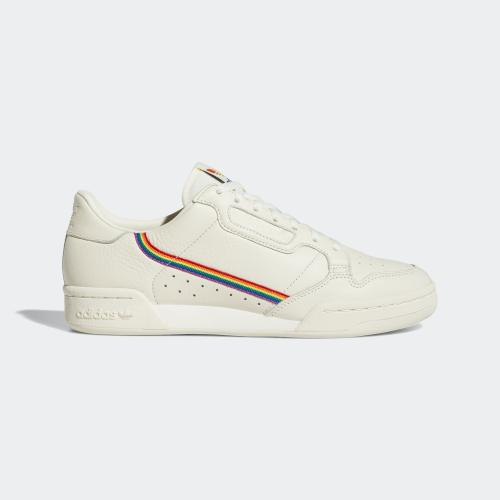 CONTINENTAL 80 PRIDE SHOES - WHITE