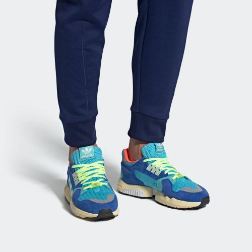 ZX TORSION SHOES - BRCYAN/LINGRN/BLUE