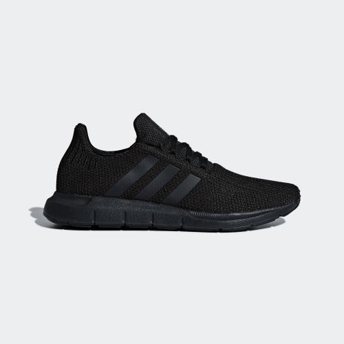 SWIFT RUN 運動鞋- 黑色| 男子| adidas(愛