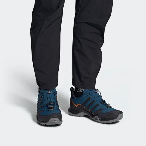 TERREX SWIFT R2 GTX 戶外運動鞋- 藍色