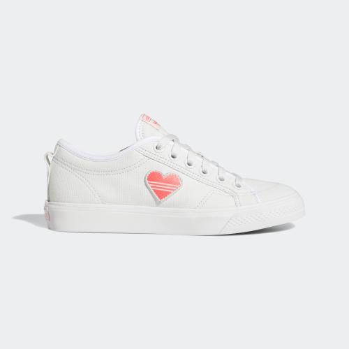NIZZA 三葉草運動鞋- 白色| 女子| adidas