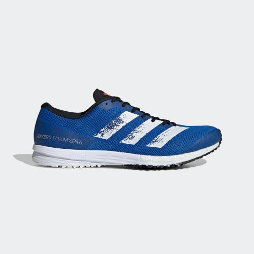 ADIZERO TAKUMI SEN 6 跑鞋- 淺藍色| 男子
