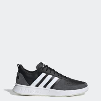 COURT 80S 運動鞋- 黑色| 男子| adidas(愛