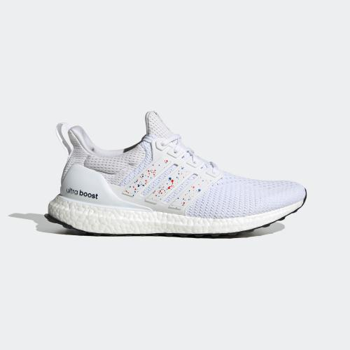 ULTRABOOST DNA CITY SHOES - FTWWHT/RED